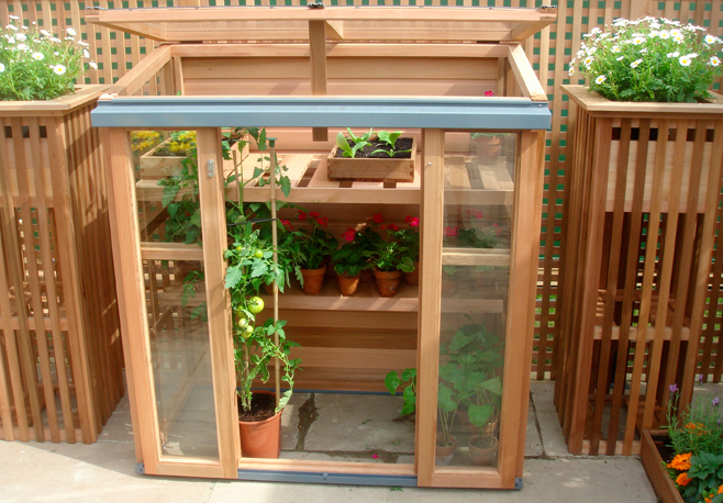 Gabriel Ash Upright Coldframe